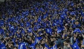 Vendidos 5.000 bilhetes para a visita ao Bessa