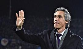 Paulo Sousa muito contestado pelos adeptos da Fiorentina