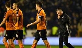Wolverhampton de Hélder Costa soma quinta derrota consecutiva