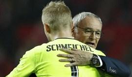 Kasper Schmeichel: «Ranieri merece todo o respeito por tudo o que atingiu connosco»