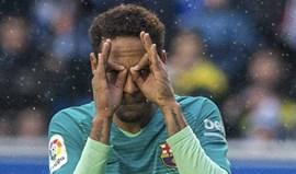 Catalães dizem que Mourinho anda a telefonar a Neymar...