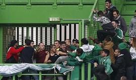 Futebol feminino: as imagens da confusão no Sporting-Sp. Braga