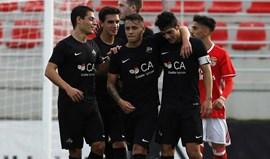 PSP teve de intervir no Académica-Benfica