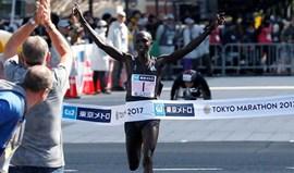 Wilson Kipsang vence maratona de Tóquio