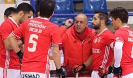Treinador do Benfica diz que dois mascarados prejudicaram um excelente espectáculo