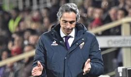 Paulo Sousa esteve a ganhar por 2-0 mas deixou fugir vitória