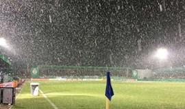 Jogo do Borussia Dortmund adiado devido ao mau tempo