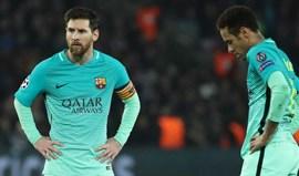 Neymar e Messi podem ser impedidos de jogar final (se lá chegarem...)