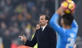 Allegri: «Exibição da Juventus não pode ser reduzida aos penáltis»