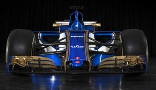 Sauber apresenta C36 em bela combinação de azul, branco e dourado