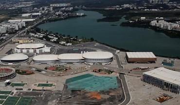 A cidade olímpica do Rio está deserta... e completamente ao abandono