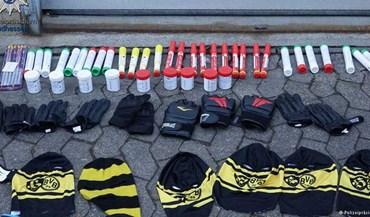 Adeptos do Dortmund vão para os jogos com... luvas de boxe na bagagem