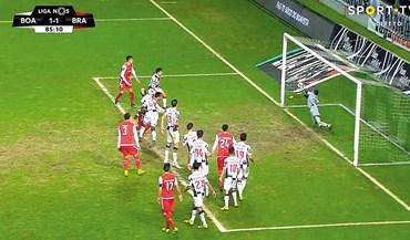 Polémica no Boavista-Sp. Braga: A bola entrou ou não?