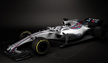 Williams mostra o FW40, a sua arma para a temporada 2017 na F1