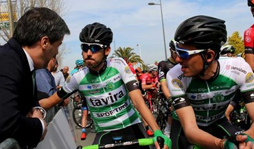 Bruno de Carvalho deu a tática... aos ciclistas do Sporting-Tavira