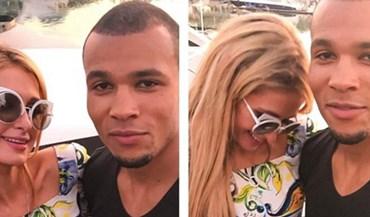 Paris Hilton próxima de lutador