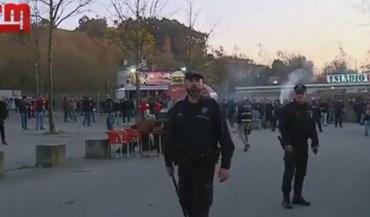 Sp. Braga-Benfica acaba sem qualquer detenção