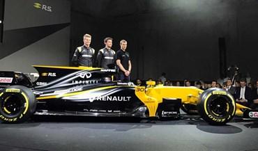 F1: Renault apresentou RS17 em Londres