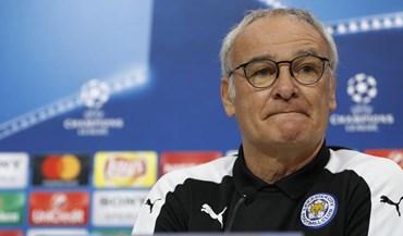 Ranieri: «Estou confiante num bom jogo amanhã»