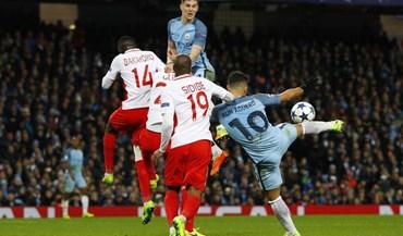 Manchester City-Monaco, 5-3