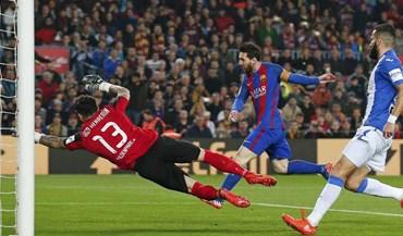 Messi aceitou bem os assobios