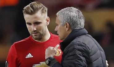 Shaw não mostrou que ama Mourinho e por isso é como um Ferrari na garagem...