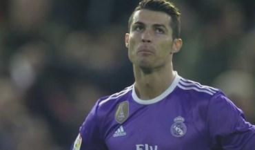 O Valencia fez o segundo golo e Cristiano Ronaldo reagiu assim