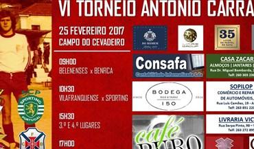Benfica e Sporting presentes no Troféu António Carraça