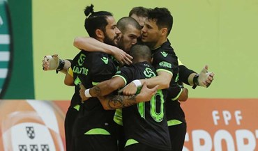 Sporting demolidor afasta Sp. Braga da Taça da Liga