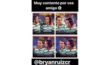 Schelotto feliz pelo regresso aos golos de Bryan Ruiz