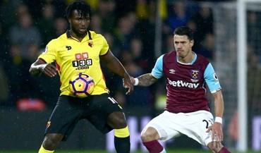 West Ham empata na visita a Watford