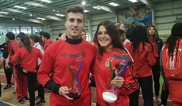 Benfica sagra-se campeão sub-23 em pista coberta