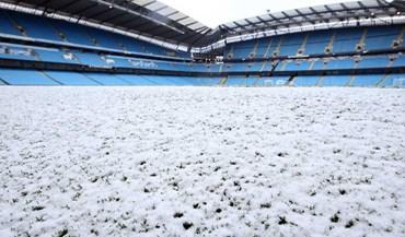 Neve deixou estádio do Manchester City... neste estado