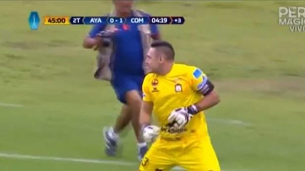 É preciso coragem: guarda-redes salva equipa da derrota com golo aos 90'+5