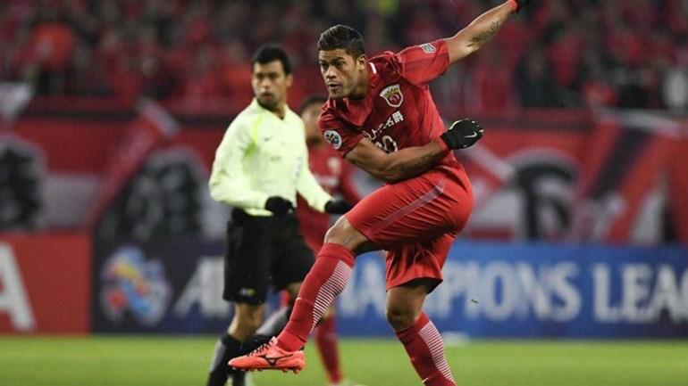 Oscar estreia com gol e vitória na Liga dos Campeões da Ásia