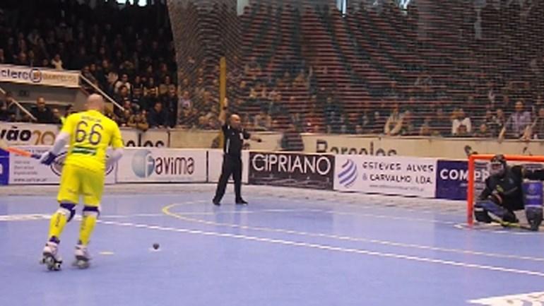 Foi a 'loucura' quando Reinaldo Ventura fez o 3-2 frente ao FC Porto