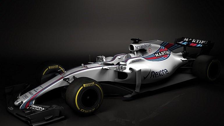 Williams mostra o FW40, a sua arma para a temporada 2017 na F1