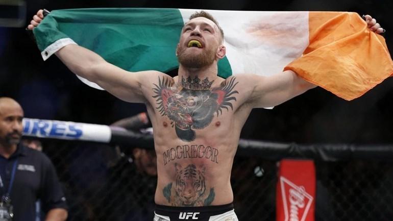 McGregor avisa: 'Cuidado com o meu filho'
