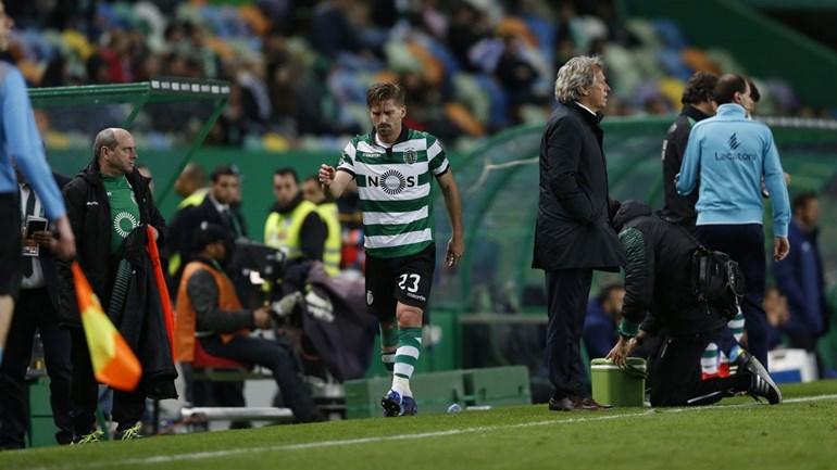 Adrien com lesão grave pode falhar dérbi com o Benfica