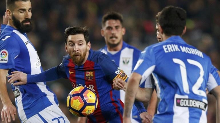 Penálti de Messi salva o Barcelona nos instantes finais