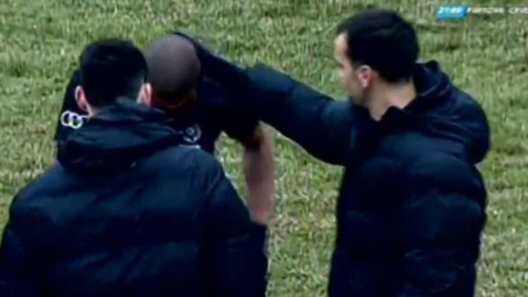 Racismo em jogo na Sérvia leva jogador do Partizan às lágrimas
