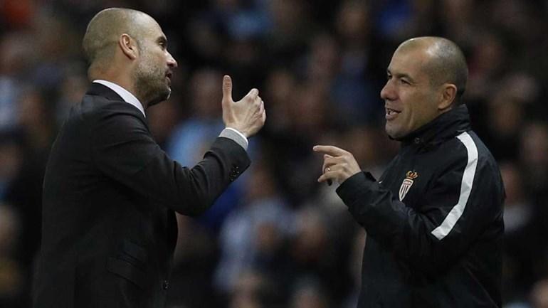 Alegada simulação de Agüero motivou troca de palavras entre Guardiola e Jardim