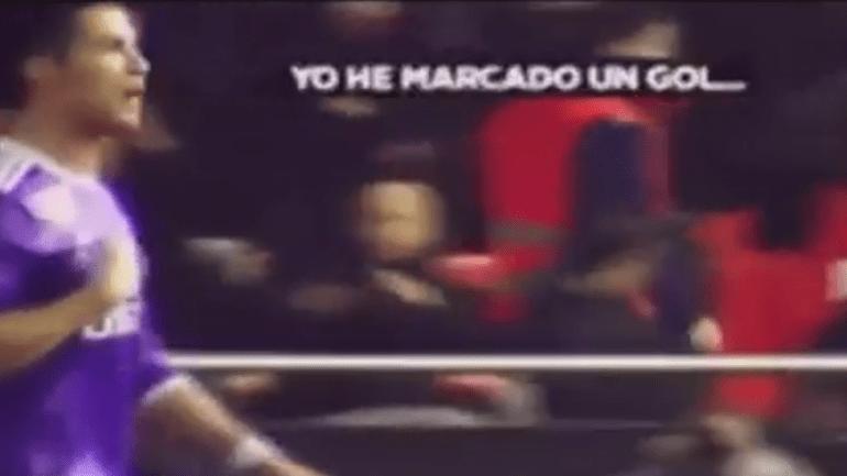 Ronaldo ouviu de tudo no Mestalla, mas também deu resposta
