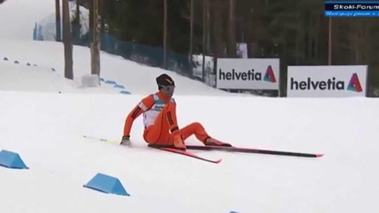 Será este o pior esquiador de sempre?