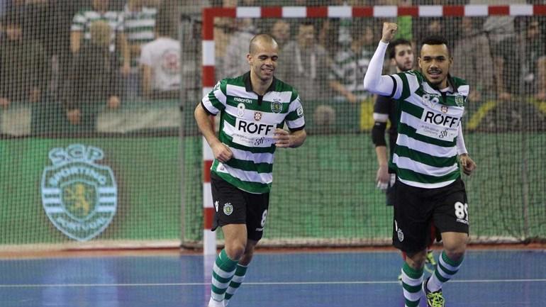 Futsal: Sporting goleia Fundão e vence Taça da Liga