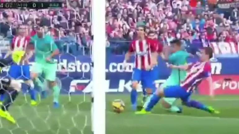 Rafinha inaugurou assim o marcador no Calderón