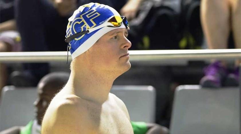 Filipe Santos bate recorde do Mundo dos 25 metros livres de natação adaptada