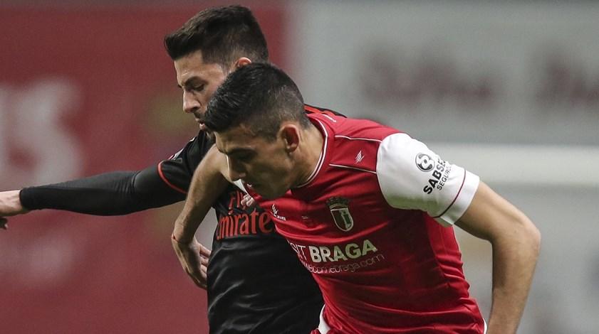 Sp. Braga frente ao Benfica: Battaglia até ao fim