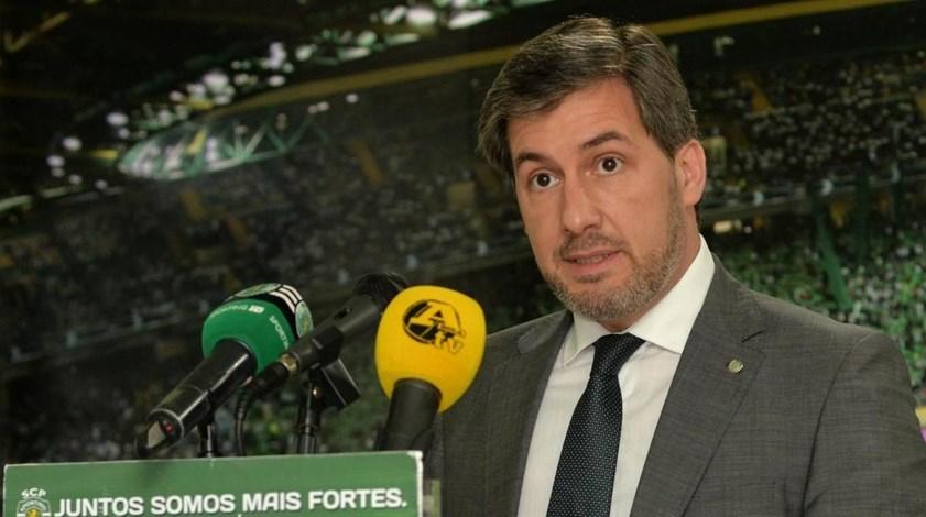 Bruno de Carvalho para António Salvador: «No desporto é preciso saber ganhar e perder»