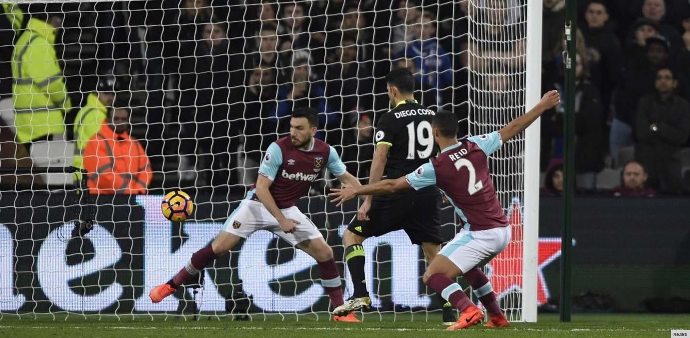 Hazard e Diego Costa dão nova vitória ao Chelsea